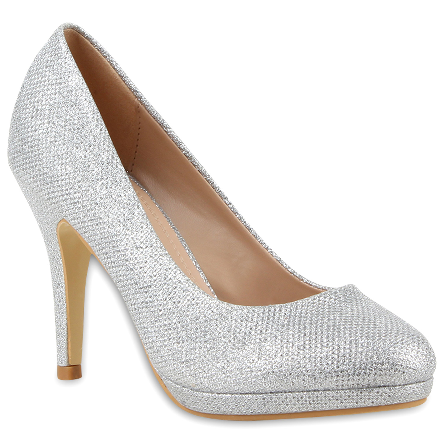 4a408ade68c6dc Damen Pumps in Silber (79727-526) - stiefelparadies.de