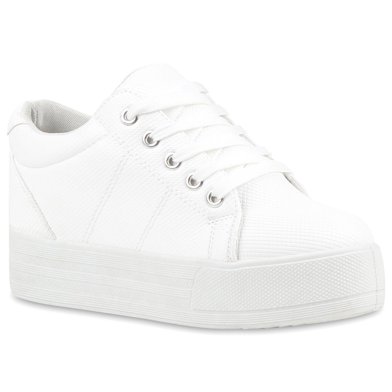 cf204d4483affa Damen Sneaker in Weiß (79742-686) - stiefelparadies.de