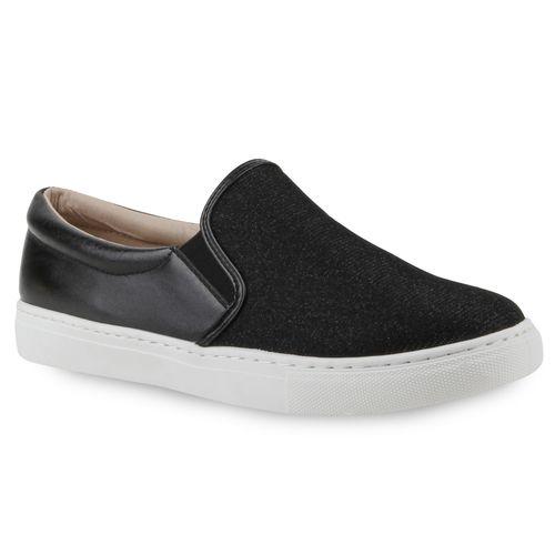 Slip Damen Sneaker Sneaker Slip Schwarz Ons Slip Ons Sneaker Schwarz Damen Damen TdxRFq