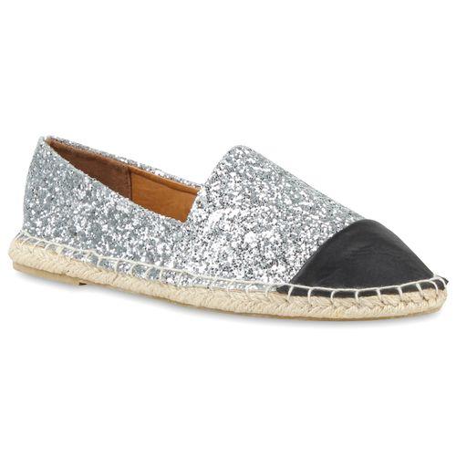 damen slippers in silber 79798 526. Black Bedroom Furniture Sets. Home Design Ideas