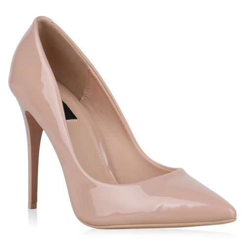 ab0af1501f5260 Damen Pumps in Creme (892084-493) - stiefelparadies.de