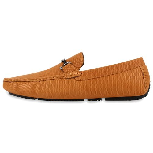 Herren Klassische Slippers - Hellbraun