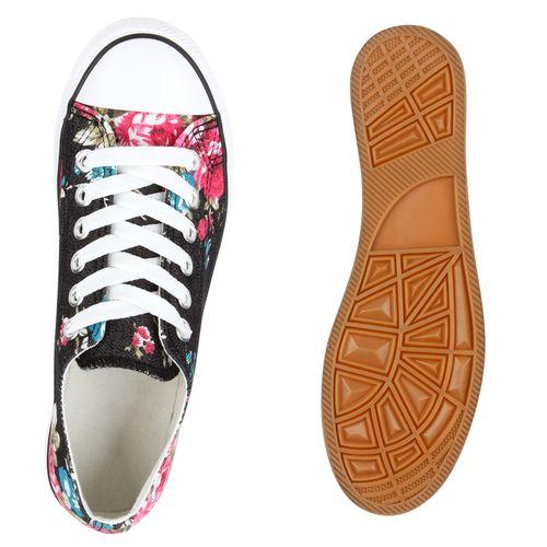 Low Damen Schwarz Damen Sneaker Sneaker rnHUna