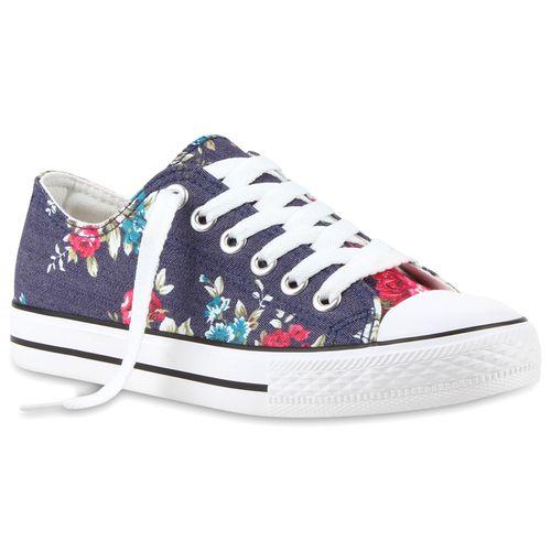Low Blau Blau Sneaker Low Damen Sneaker Damen Damen Sneaker 7B0vOqwv