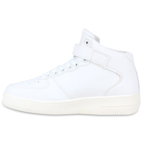 Damen Sportschuhe Basketballschuhe - Weiß