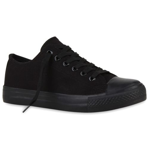Damen Sneaker low - Schwarz Basic