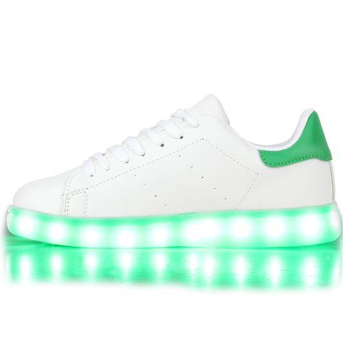 Damen Sneaker low - Weiß Grün