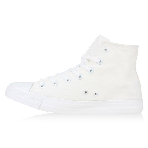 Weiß Sneaker Herren Herren High Sneaker aqPCCwI