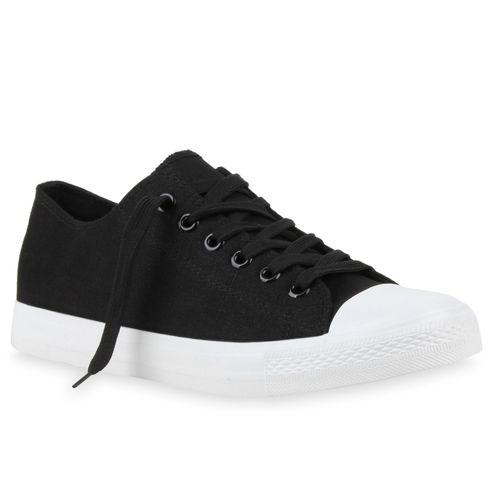 Herren Sneaker low - Schwarz Weiß