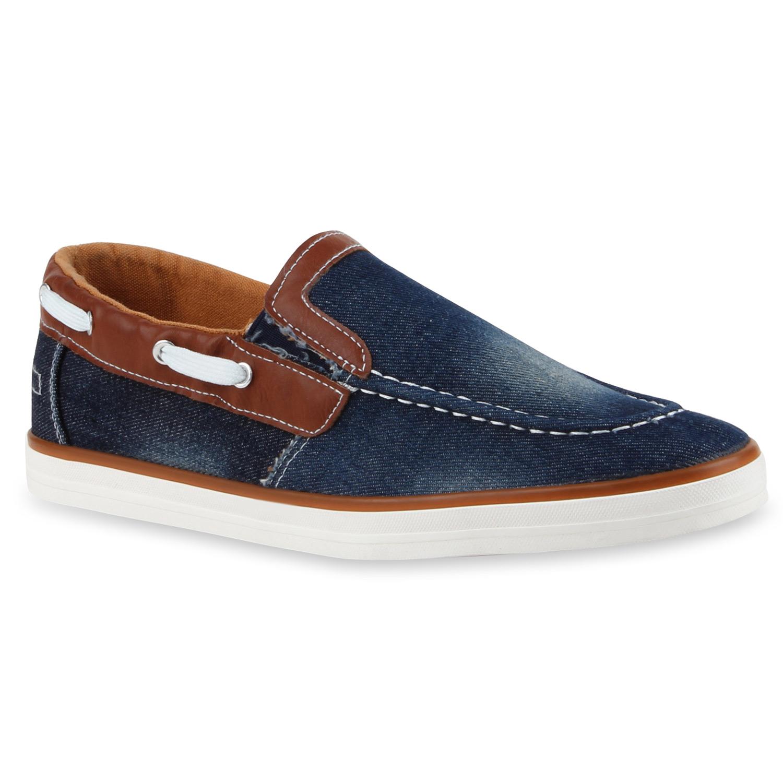 herren slippers in blau braun 79949 3683. Black Bedroom Furniture Sets. Home Design Ideas