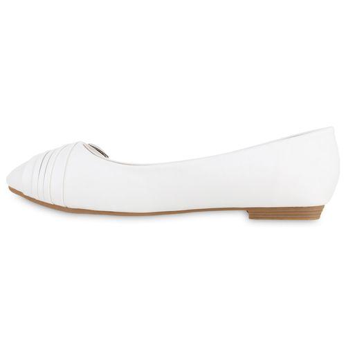 Weiß Klassische Damen Weiß Ballerinas Damen Ballerinas Weiß Ballerinas Klassische Damen Klassische q5ptgS