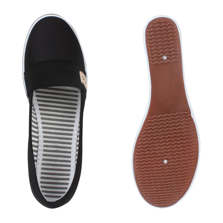 892839 Damen Keilpumps Wedges Canvas Schuhe Pumps Keilabsatz New Look
