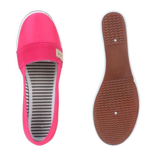 Damen Keilslippers - Pink