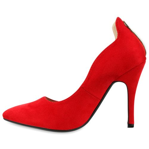 435f3dc122d4 Damen Pumps in Rot (810537-523) - stiefelparadies.de