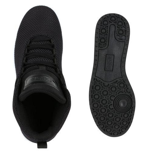 Damen Sportschuhe Basketballschuhe - Schwarz Weiß