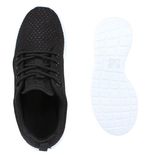 Herren Sportschuhe Laufschuhe - Schwarz Weiß