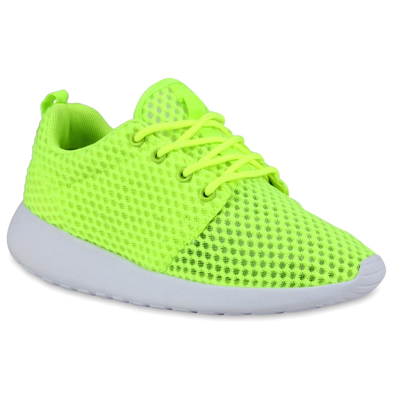 Damen Sportschuhe Laufschuhe - Neongrün