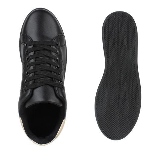 Damen Sneaker low - Schwarz Basic