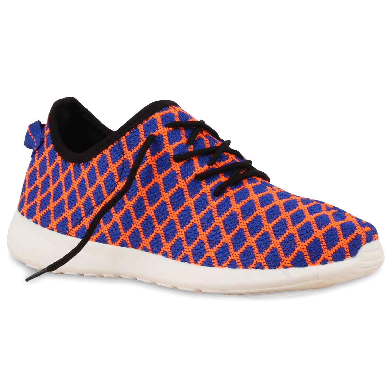 Herren Sportschuhe Laufschuhe - Orange Blau