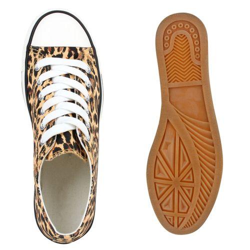 Herren Sneaker low - Leopard