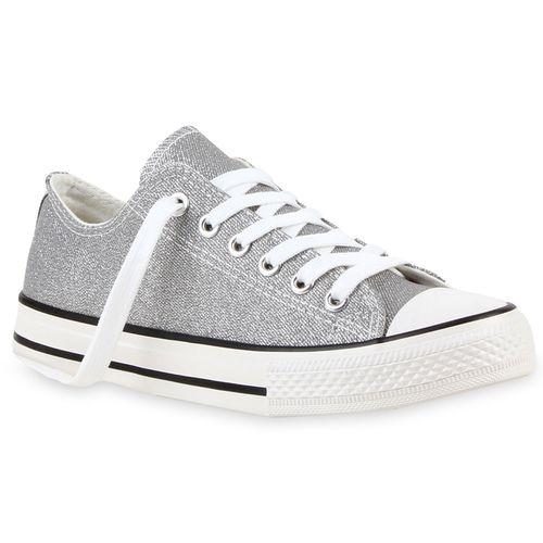 Sneaker Damen Damen Sneaker Low Grau Hxv4H6r