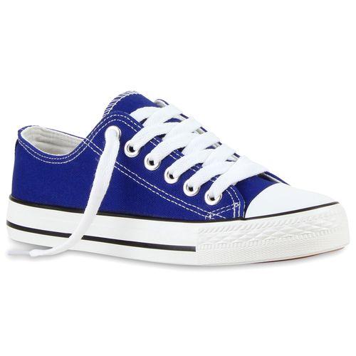 Damen Low Sneaker Sneaker Low Damen Blau Blau Damen Sneaker A71URzwq