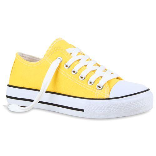 Damen Sneaker low - Gelb