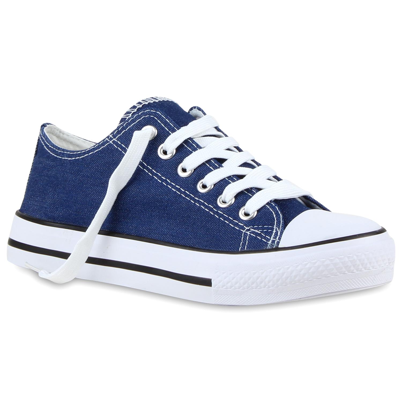 Damen Sneaker low - Blau Denim
