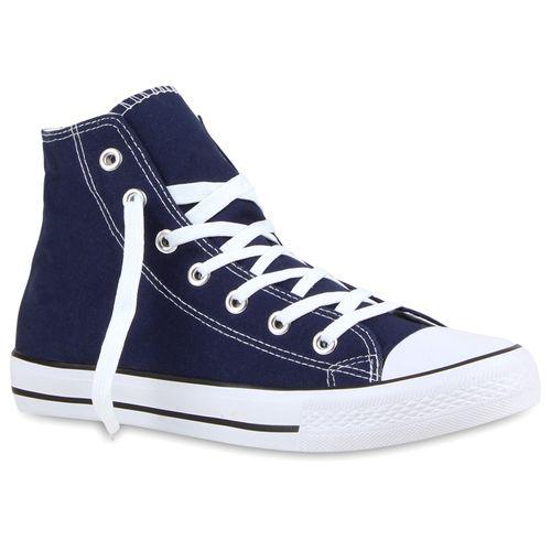Dunkelblau High Herren Sneaker Herren Sneaker xIz4RR