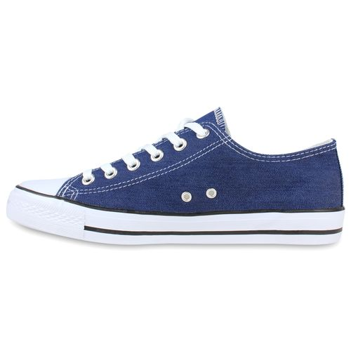 Herren Sneaker low - Blau Denim