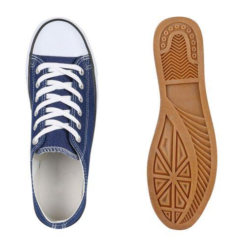 Herren Sneaker low - Blau Denim