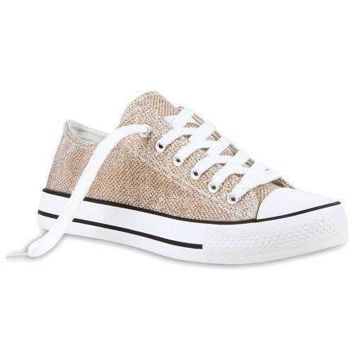 Damen Damen Gold Low Sneaker Gold Damen Low Sneaker Gold Low Damen Low Sneaker Gold Sneaker Damen rwrC7qUx