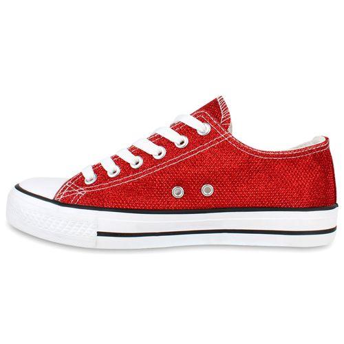 Low Rot Sneaker Sneaker Low Rot Rot Damen Sneaker Low Damen Damen qB1Tnnfw