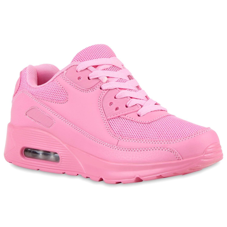 Sportschuhe für Frauen - Damen Sportschuhe Laufschuhe Rosa  - Onlineshop Stiefelparadies