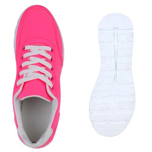 Damen Sportschuhe Laufschuhe - Neon Pink