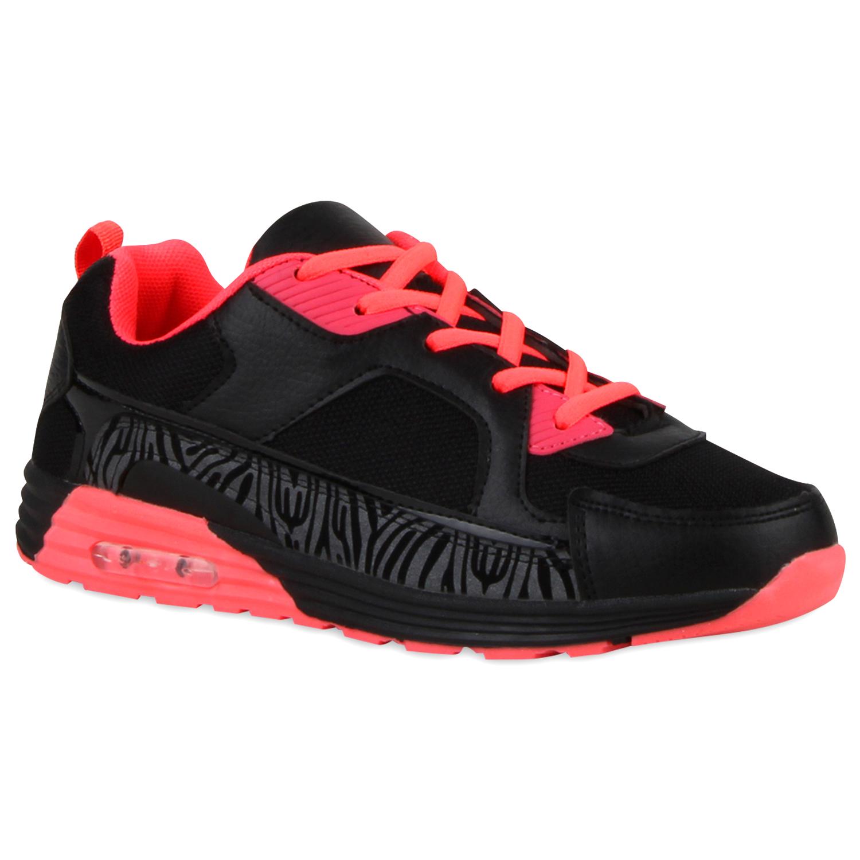 Damen Sportschuhe Laufschuhe - Schwarz Coral