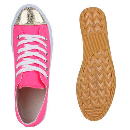 Damen Sneaker low - Neon Pink