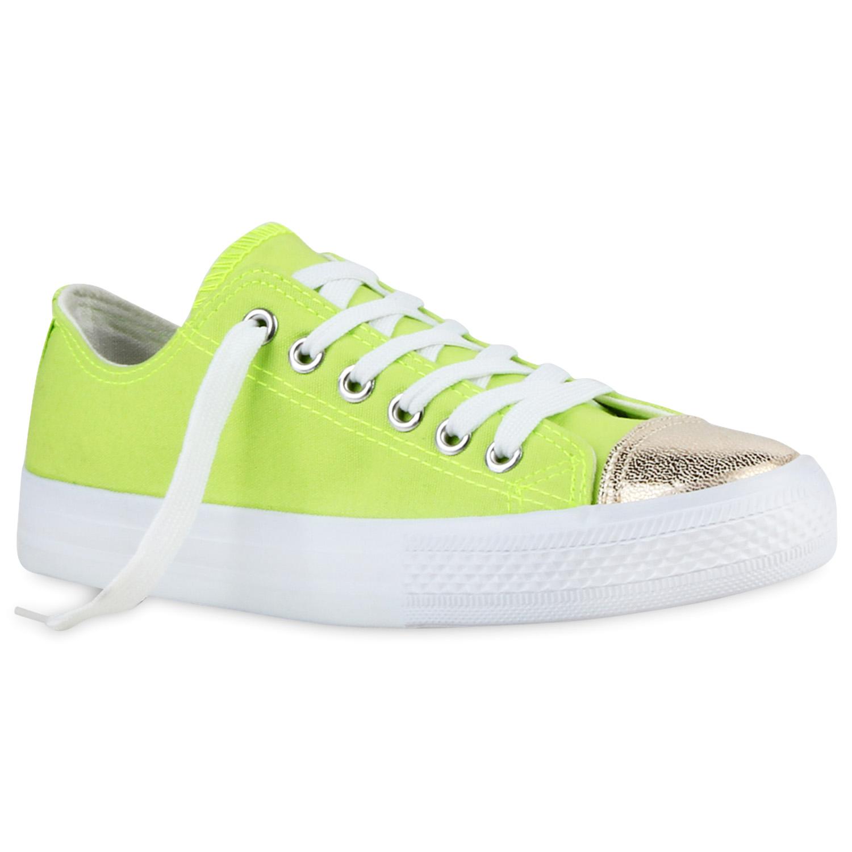 Damen Sneaker low - Neon Grün