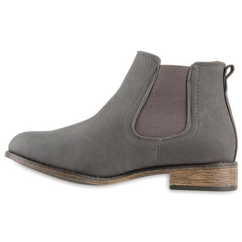 Chelsea Stiefeletten Damen Grau Damen Stiefeletten Boots SzwWpEt7qg