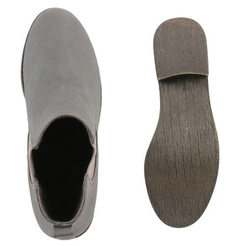 Grau Stiefeletten Boots Grau Stiefeletten Boots Damen Chelsea Stiefeletten Chelsea Chelsea Grau Boots Damen Damen qURIOc