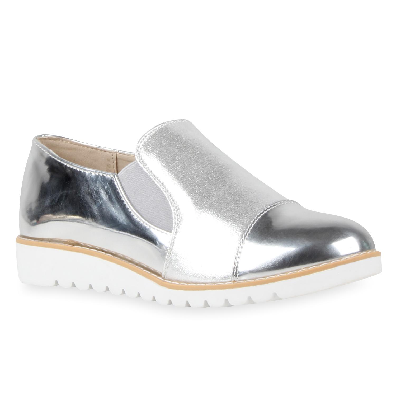 damen slippers in silber 811282 526. Black Bedroom Furniture Sets. Home Design Ideas