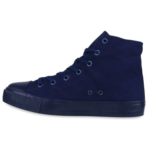 Herren Sneaker high - Dunkelblau Navy