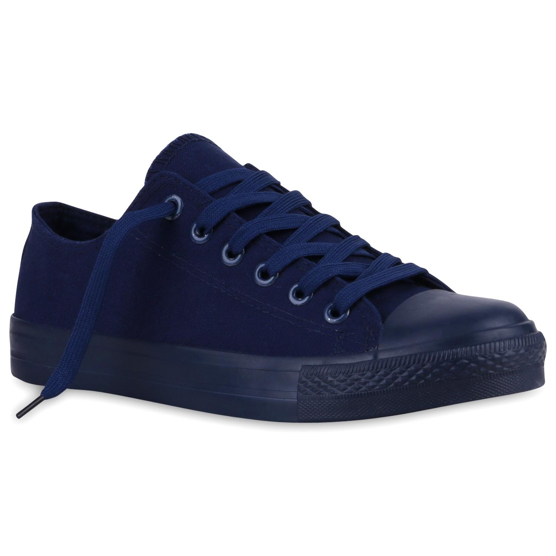 Herren Sneaker low - Dunkelblau Navy