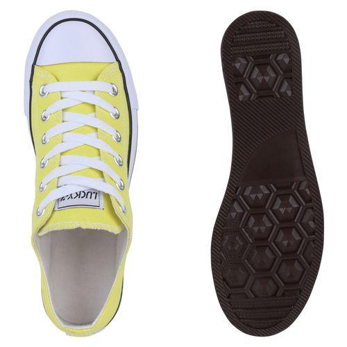 Damen Sneaker low - Hellgelb