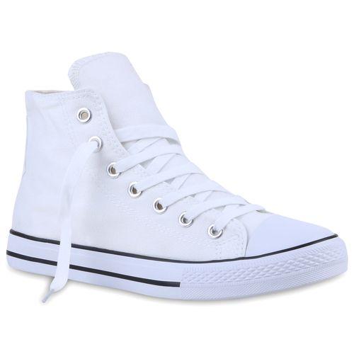 Herren Sneaker high - Weiß Schwarz