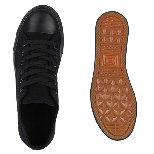 Damen Schwarz Low Damen Damen Low Sneaker Low Damen Sneaker Sneaker Schwarz Schwarz rC4rfwq