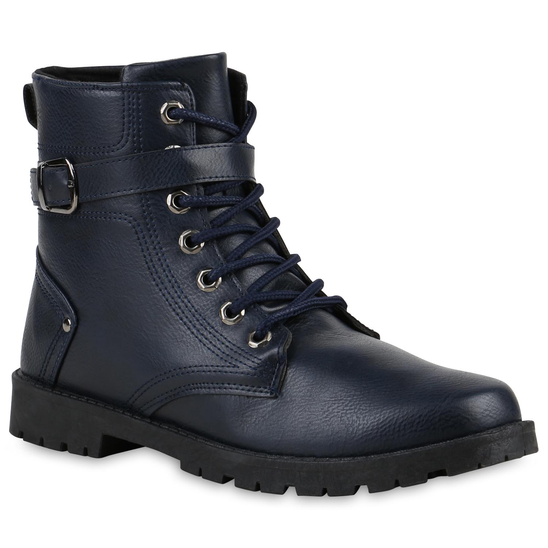herren boots in dunkelblau 812643 512. Black Bedroom Furniture Sets. Home Design Ideas