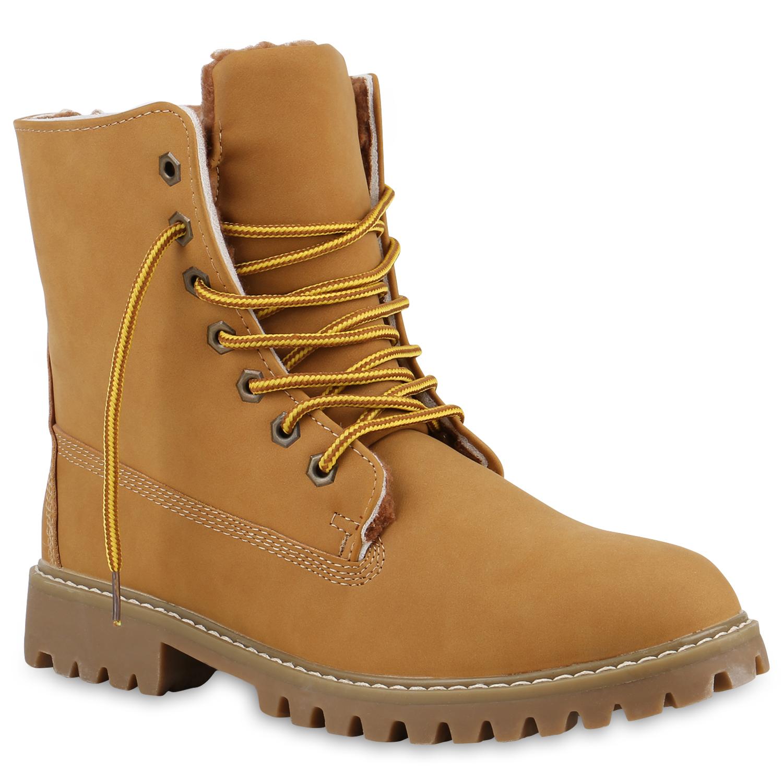 Herren Worker Boots - Hellbraun