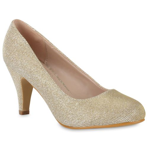 0a3acc56b84cad Damen Pumps in Creme (812844-493) - stiefelparadies.de