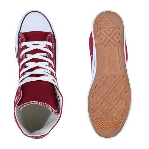 Herren Sneaker Dunkelrot High Herren High High Sneaker Sneaker Herren Dunkelrot a1vqFnwd1
